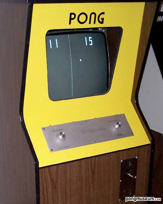 Pong Cabinet